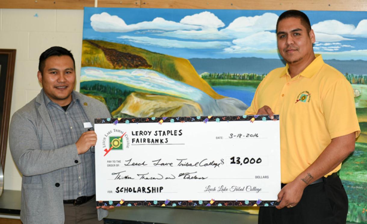 LLTC scholarship donation