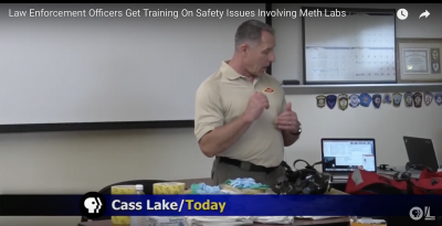 LLTC meth Lab Safety training for law enforcement officers