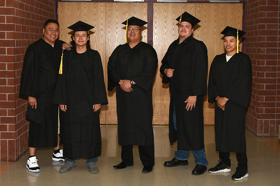 LLTC students at graduation ceremony
