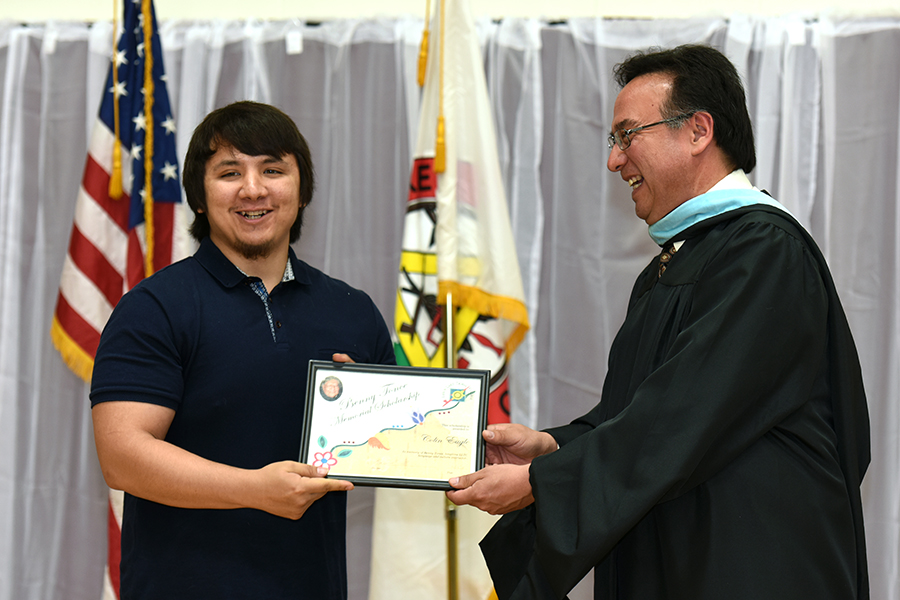 LLTC student scholarship - graduation ceremony