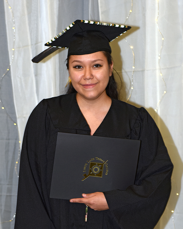 LLTC student at graduation ceremony
