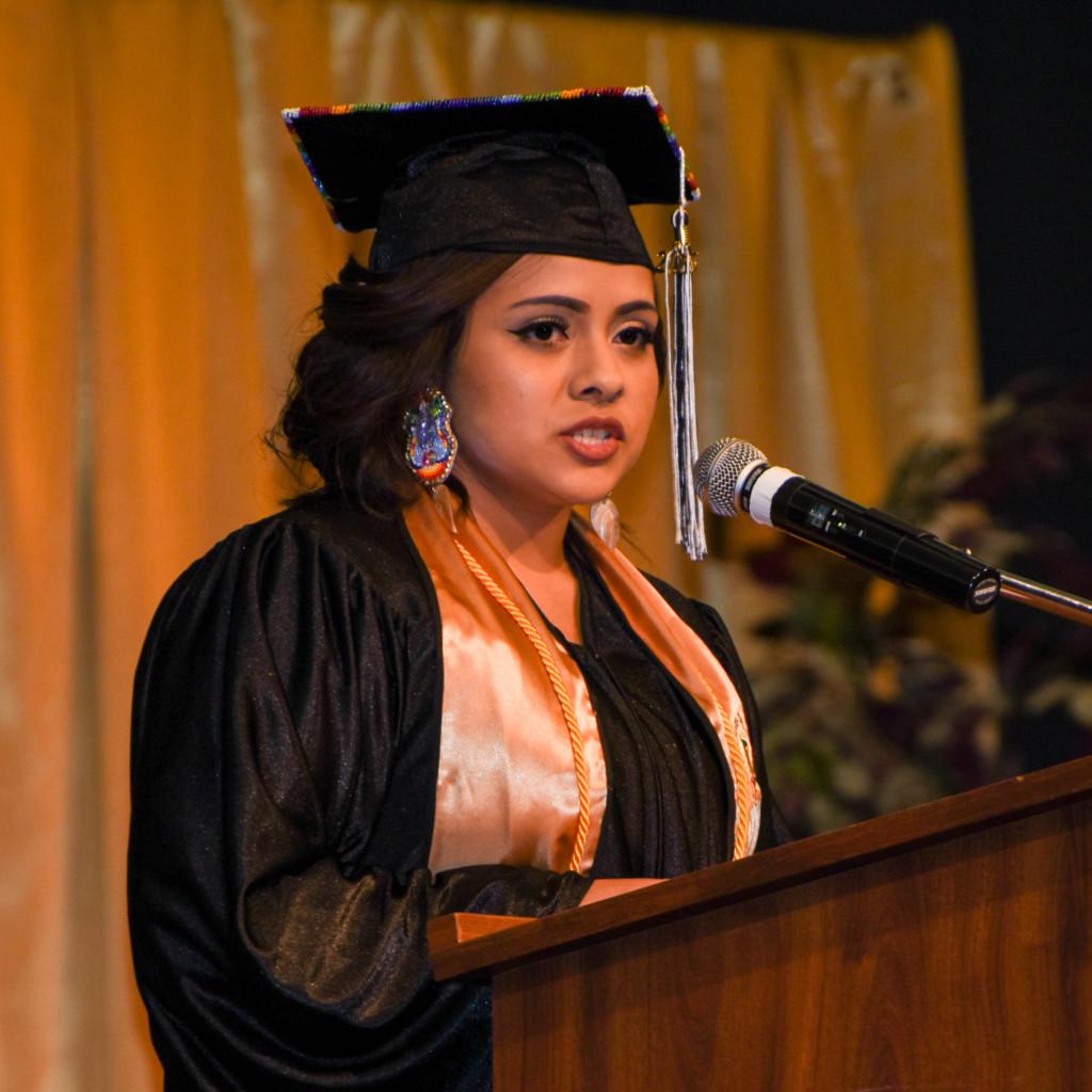 LLTC student at graduation