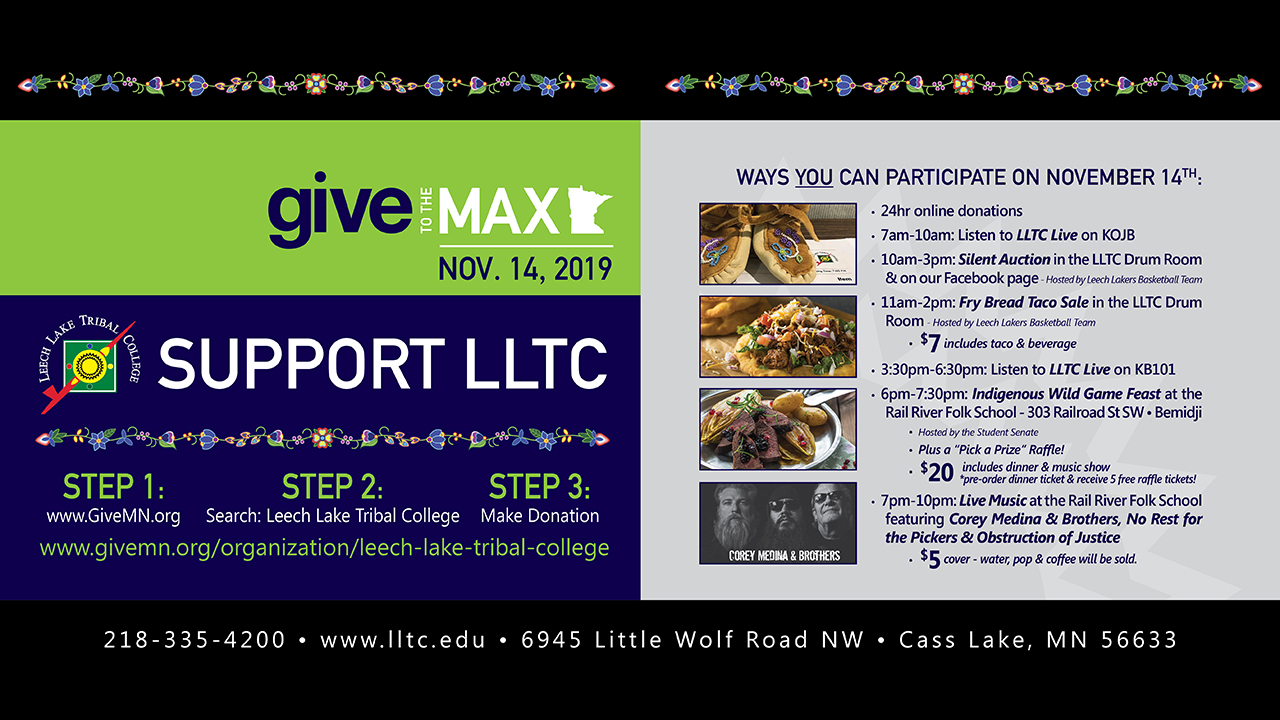 LLTC Give To The Max Day Events