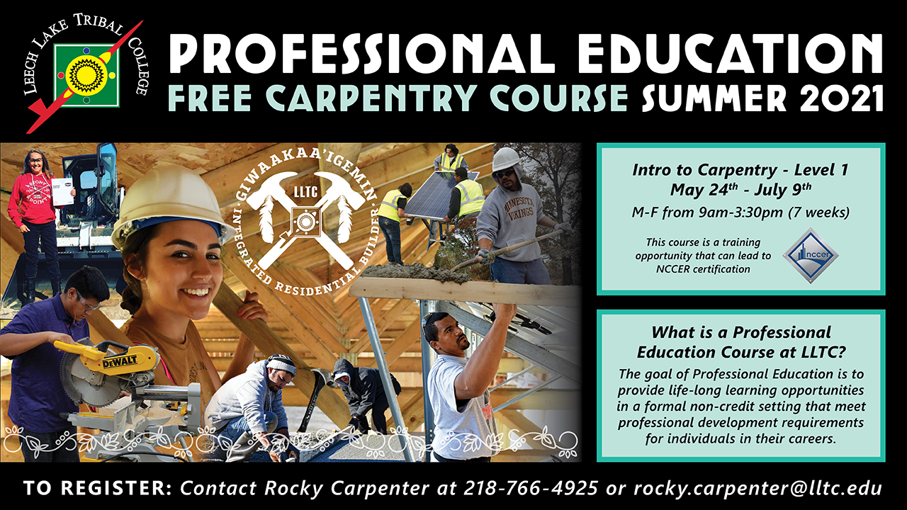 Professional Education Carpentry Course