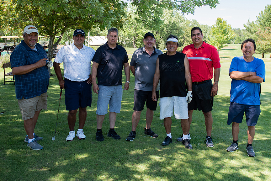 Shooting Start team with Leroy and Archie Golf Classic 2021
