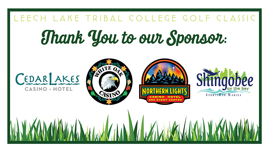 Special Recognition Sponsors Leech Lake Gaming